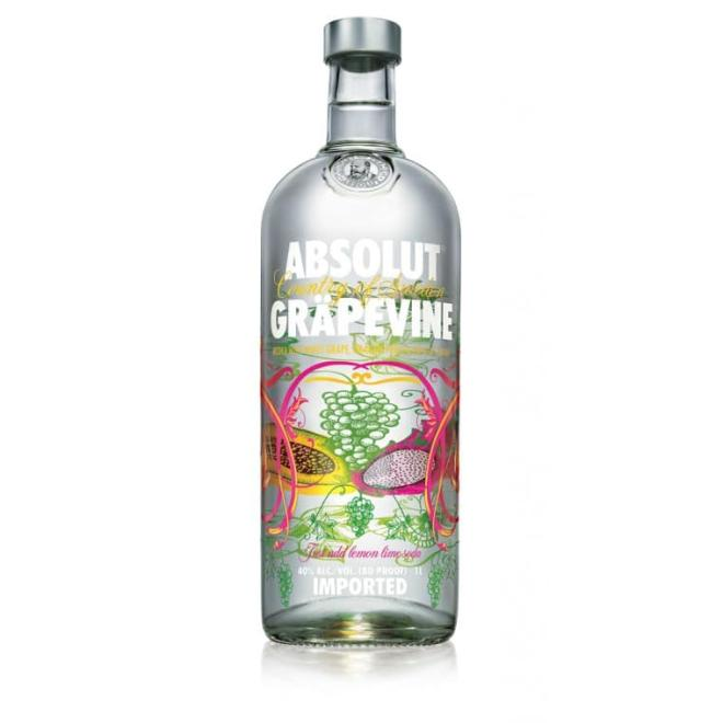 Absolut Grapevine, 1 Liter (Sweden)