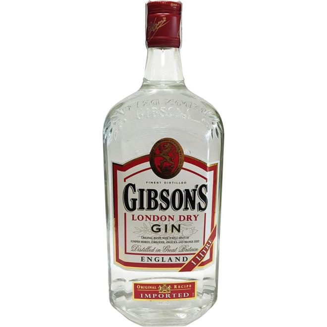 Gibson's London Dry Gin, 1 Liter