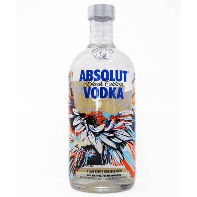 Absolut Blank Edition Dave Kinsey (Suecia)