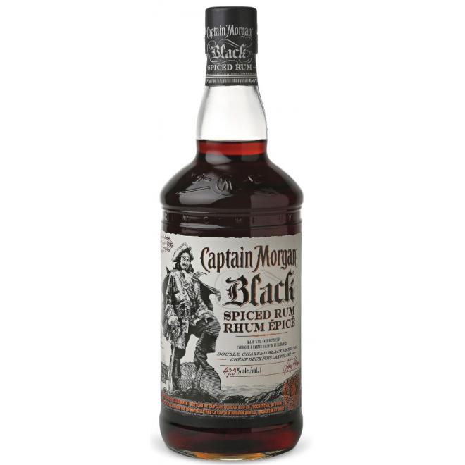 Captain Morgan Black Spiced 1 Liter