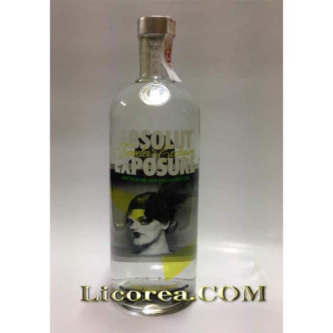 Absolut Exposure Modelo 3 1 Litro