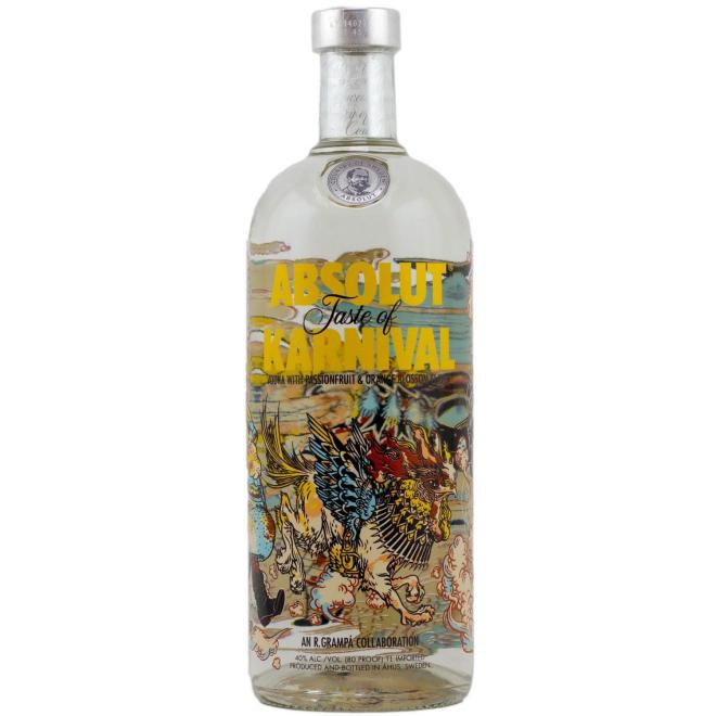 Absolut Karnival 1 Liter (Sweden)