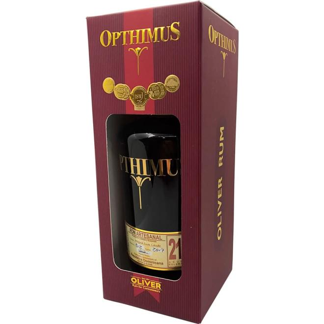 Opthimus Reserve 21 Years (Dominican Republic)
