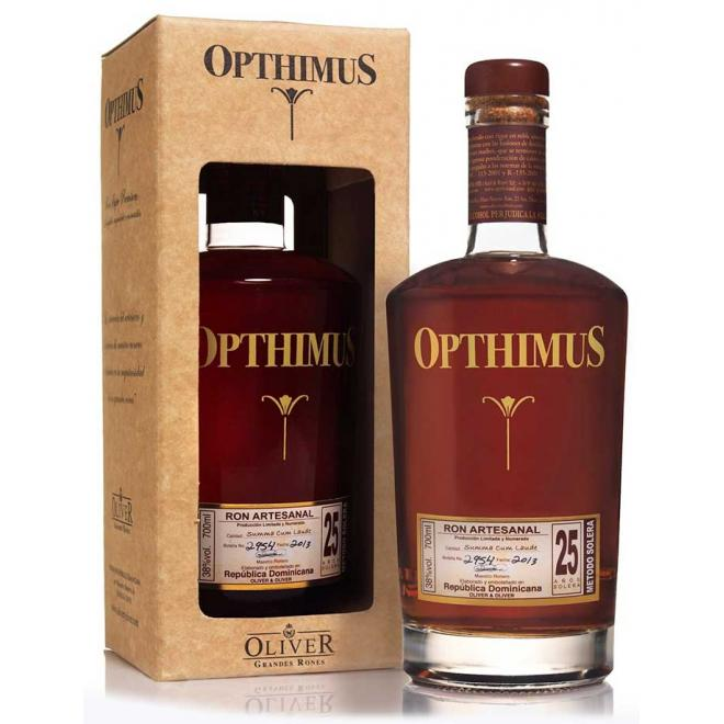 Opthimus Reserve 25 Years (Dominican Republic)