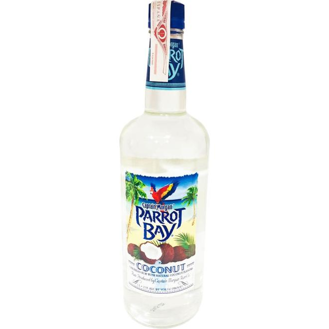 Captain Morgan Parrot Bay Coconut 1 Liter (Puerto Rico)