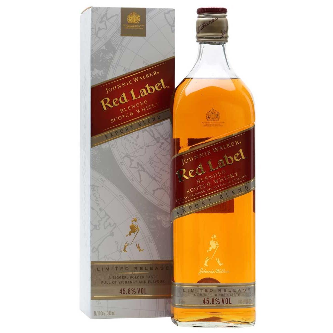73fa58493d5 Johnnie Walker Red Label Export Blend 1 Liter - Buy Whisky - Scotch ...