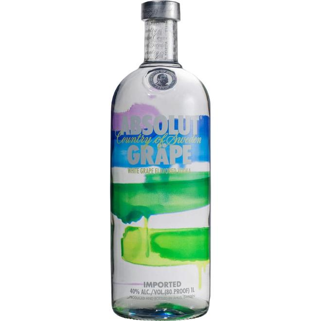Absolut Grape 1 Litre (Sweden)