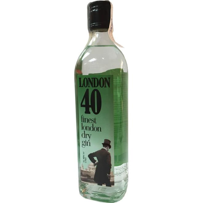 London 40 Finest London Dry Gin