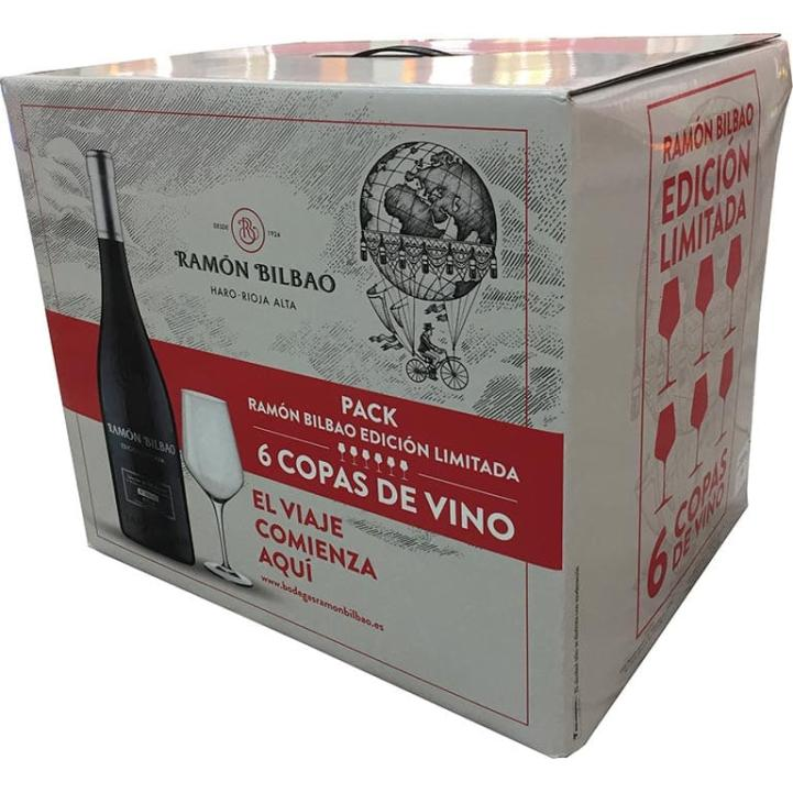 Ramón Bilbao Limited Edition 2015 6 Bottles + 6 Glasses