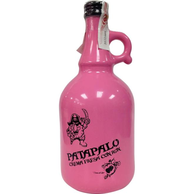 PataPalo Strawberry Cream with Rum 1 Liter