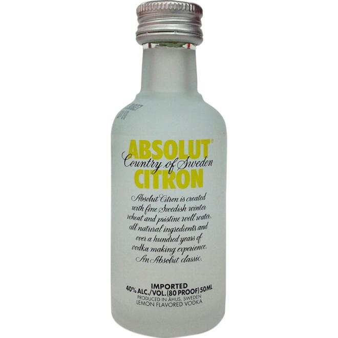 Absolut Citron 5 CL (Sweden)