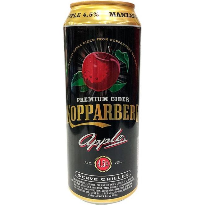 Kopparberg Cider Naked Apple 50 CL Comprar Tónica y Refrescos online Licorea