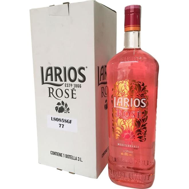 Larios Rosé 3 Liters (Spain)