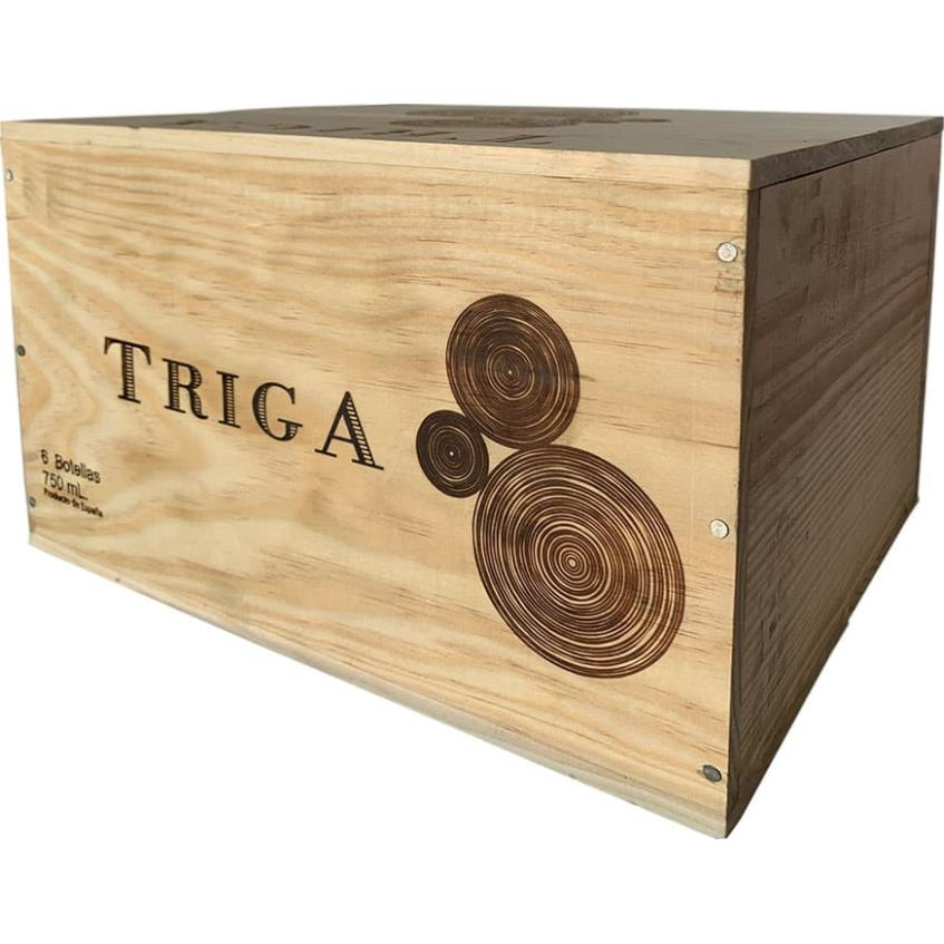 Triga 2016 6 Bottles Wooden Case