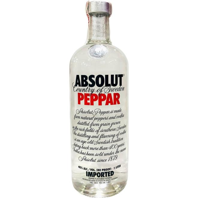 Absolut Peppar 1 Litro (Suecia)