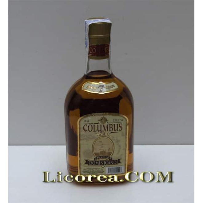 Columbus Vintage 7 Year Reserve  (Dominican Republic)