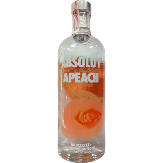 Absolut Apeach 1 Litro (Suecia)