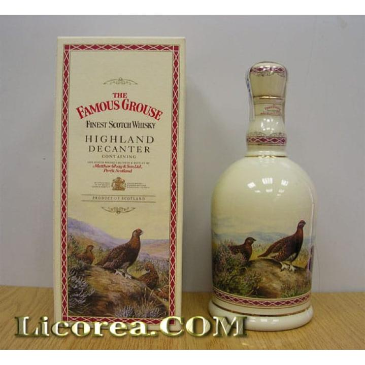 Famous Grouse Highland Ceramic Decanter