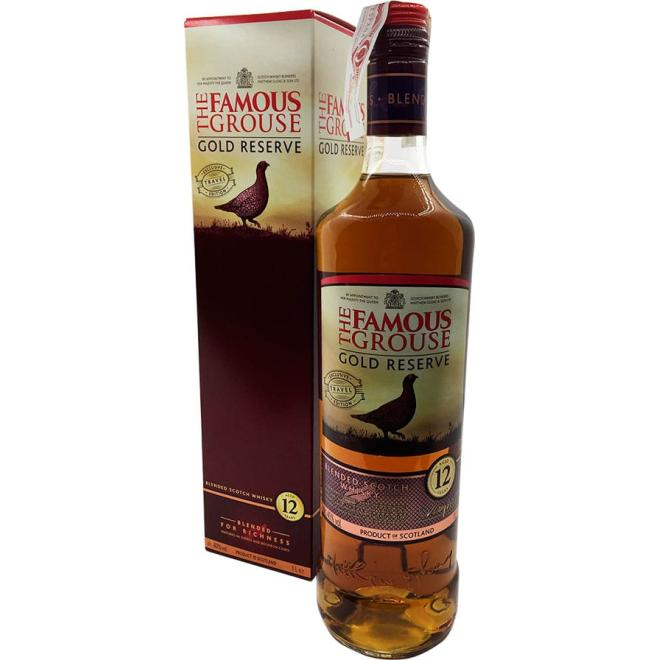 Famous Grouse Gold Reserve 12 Años 1 Litro