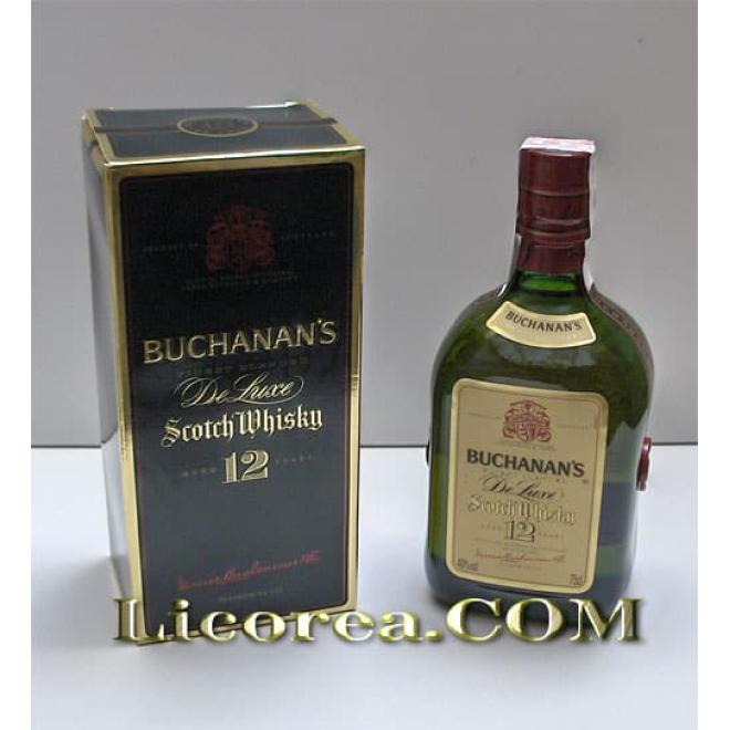 Buchanan's DeLuxe 12 Year Reserve, 75 CL
