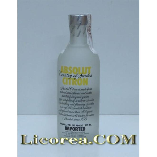 Absolut Citron, 37.5 CL
