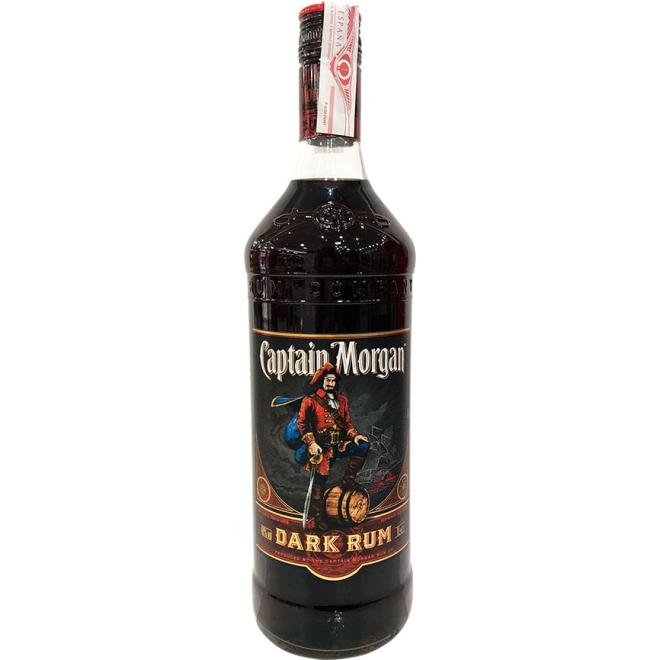Captain Morgan Black 1 Liter (Jamaica)