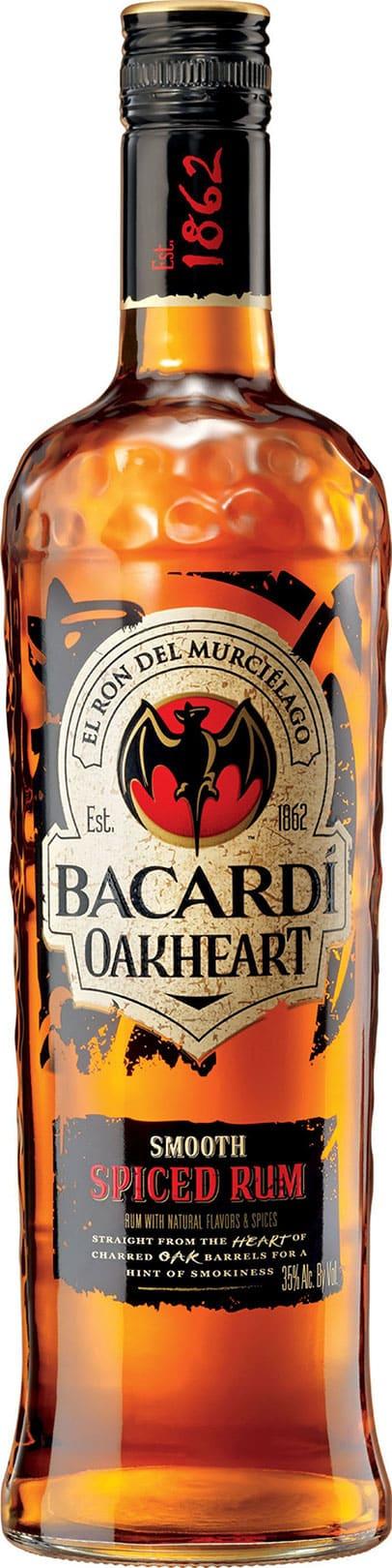 Bacardi Oakheart 1 Liter - Buy Rum - Bacardi Oakheart 1 Liter Licorea